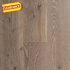 Clearance! White Oak Gray Engineered Hardwood