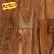 Clearance! Acacia Small Hand Scraped Engineered Hardwood
