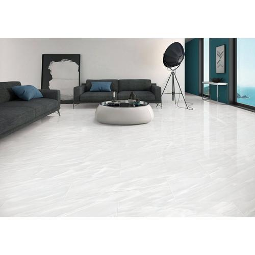 Cyrus White Polished Porcelain Tile 16 X 32 100147560 Floor