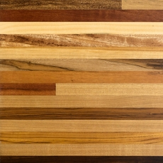 Brazilian Carnival Butcher Block Countertop 12ft.
