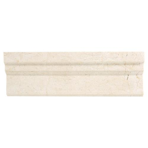 Crema Marfil Marble Crown Molding - 4 x 12 - 100156439 | Floor and Decor