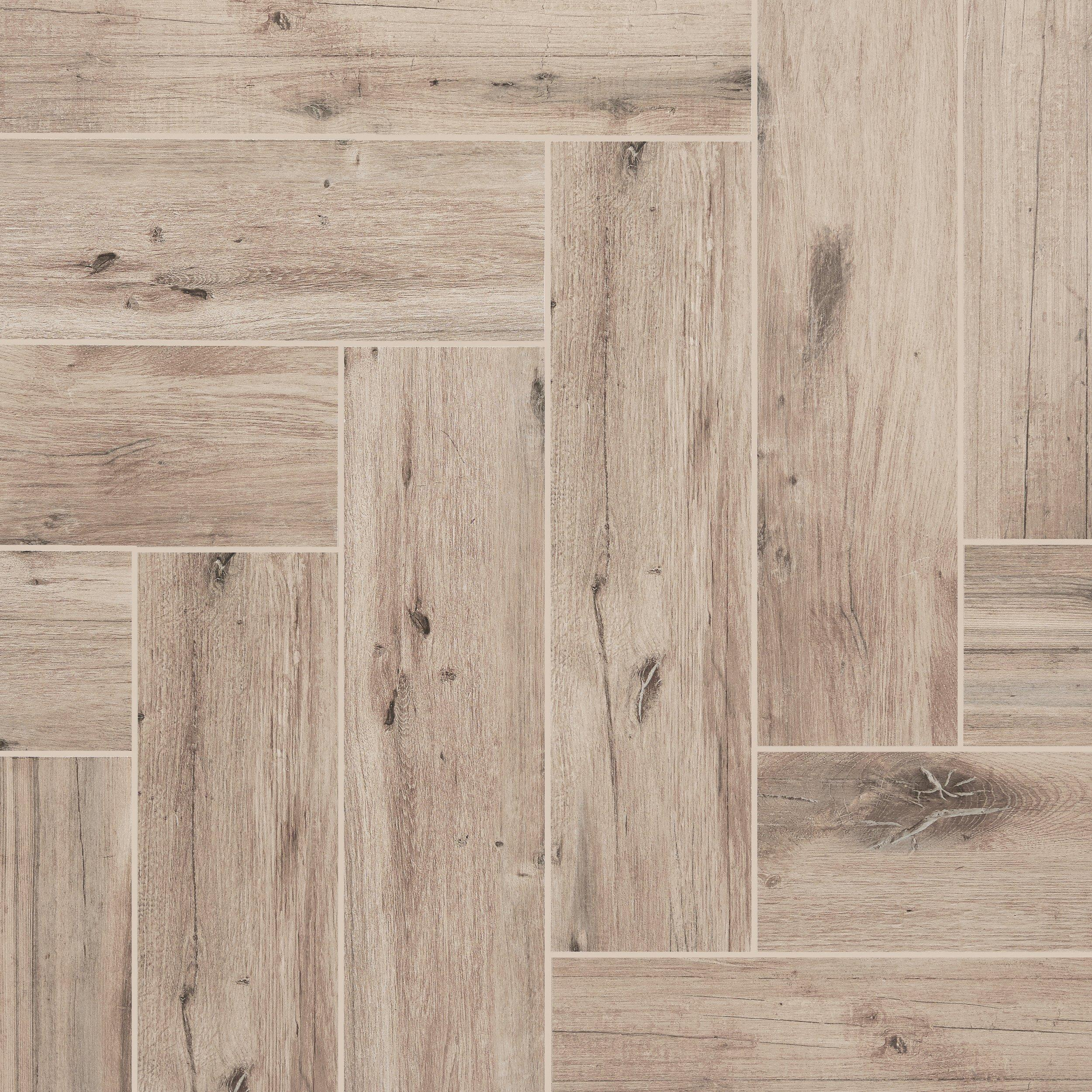 Mansfield Amber Wood Plank Porcelain Tile 6 x 24 100156603