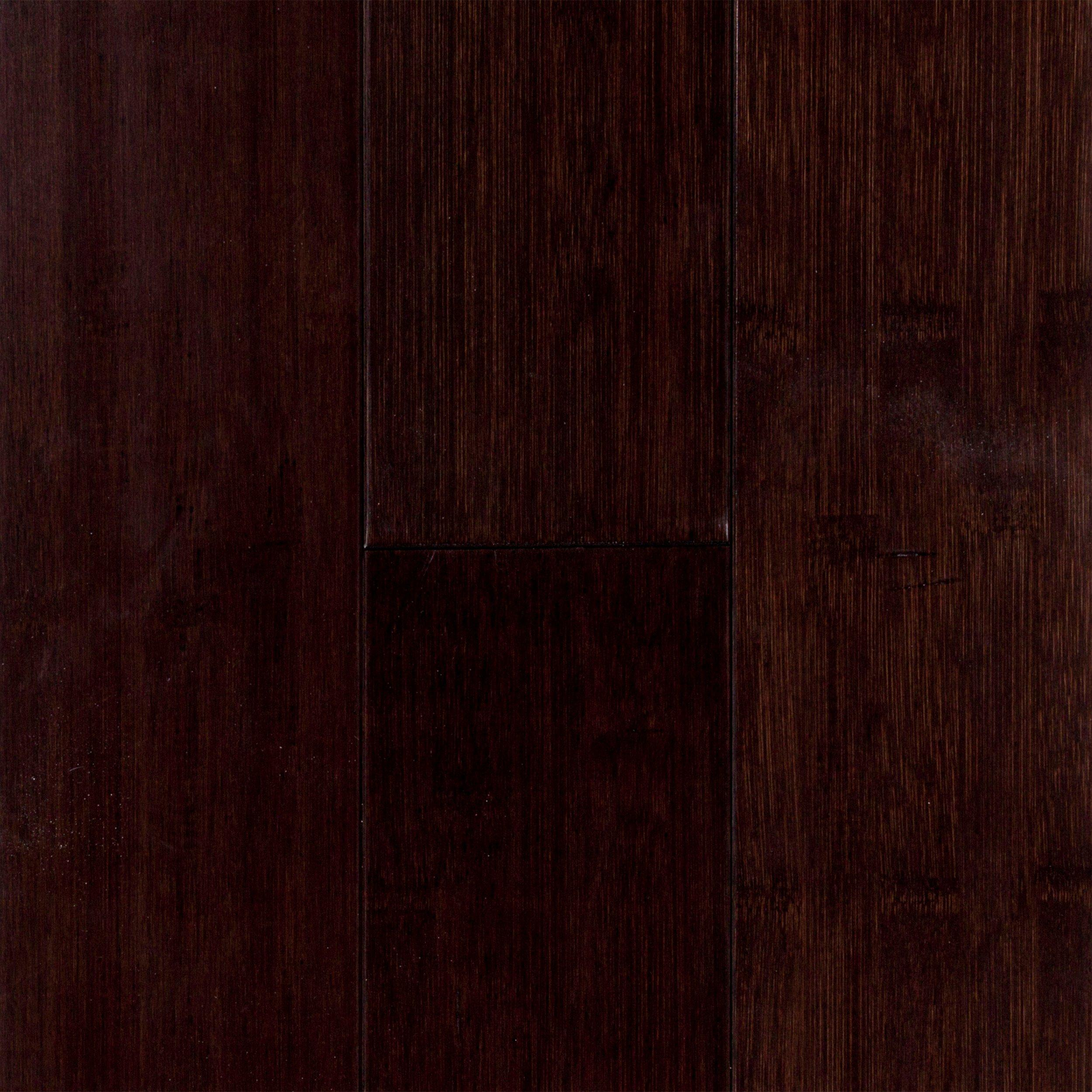 Eco Forest Dark Java Solid Bamboo Sample   3/8in. X 4in.   100167634 | Floor  And Decor