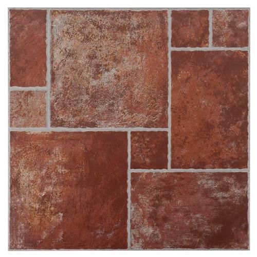 Track Terracotta Ceramic Tile Sample