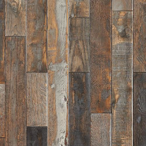 Azur Oak Distressed Solid Hardwood