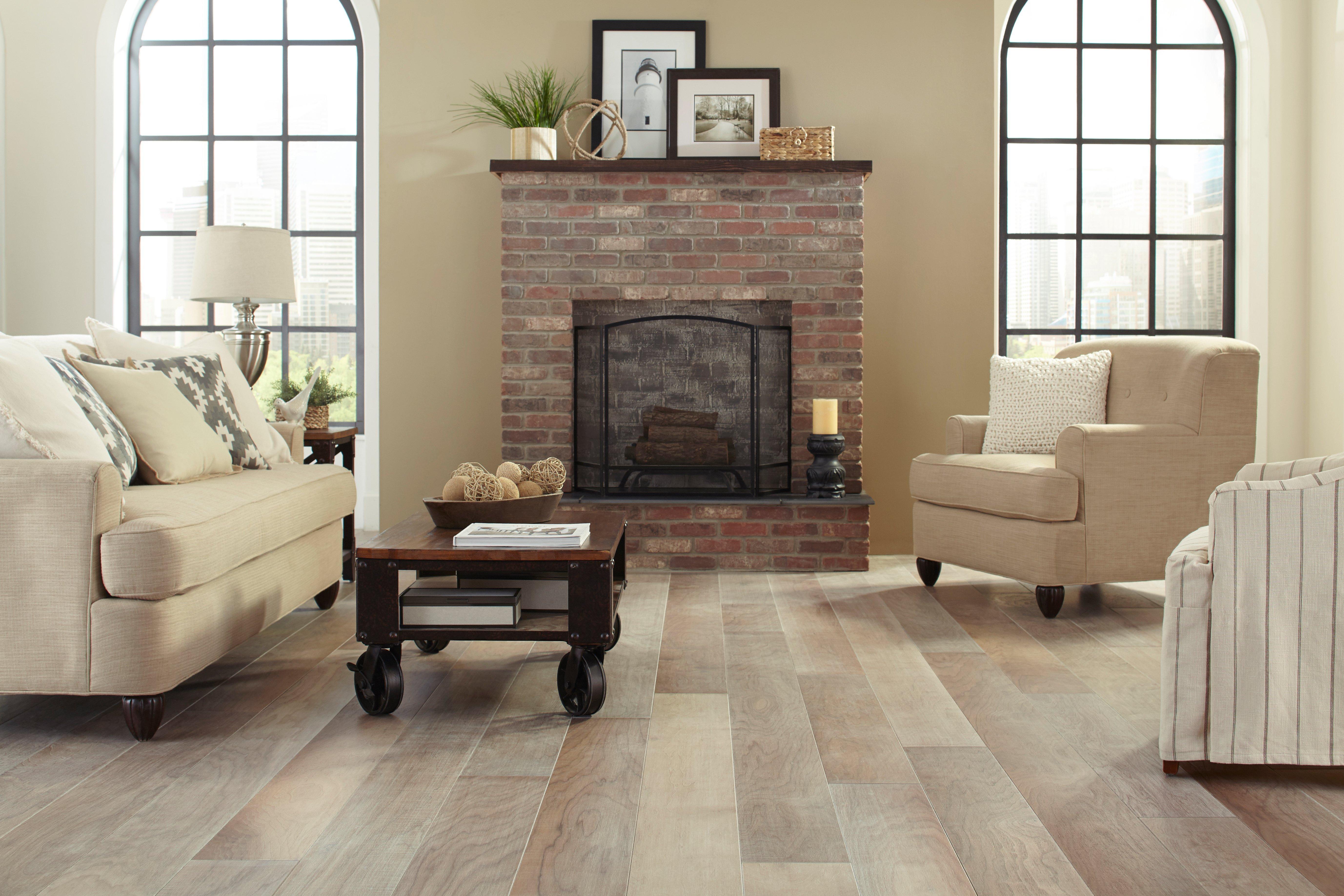 Featured Fireplace 0 Walnut Gray Engineered Hardwood