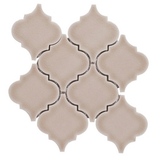 Villa Heirloom Clay Arabesque Porcelain Mosaic