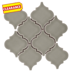 Clearance! Villa Heirloom Willow Arabesque Porcelain Mosaic