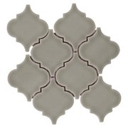 Villa Heirloom Willow Arabesque Porcelain Mosaic