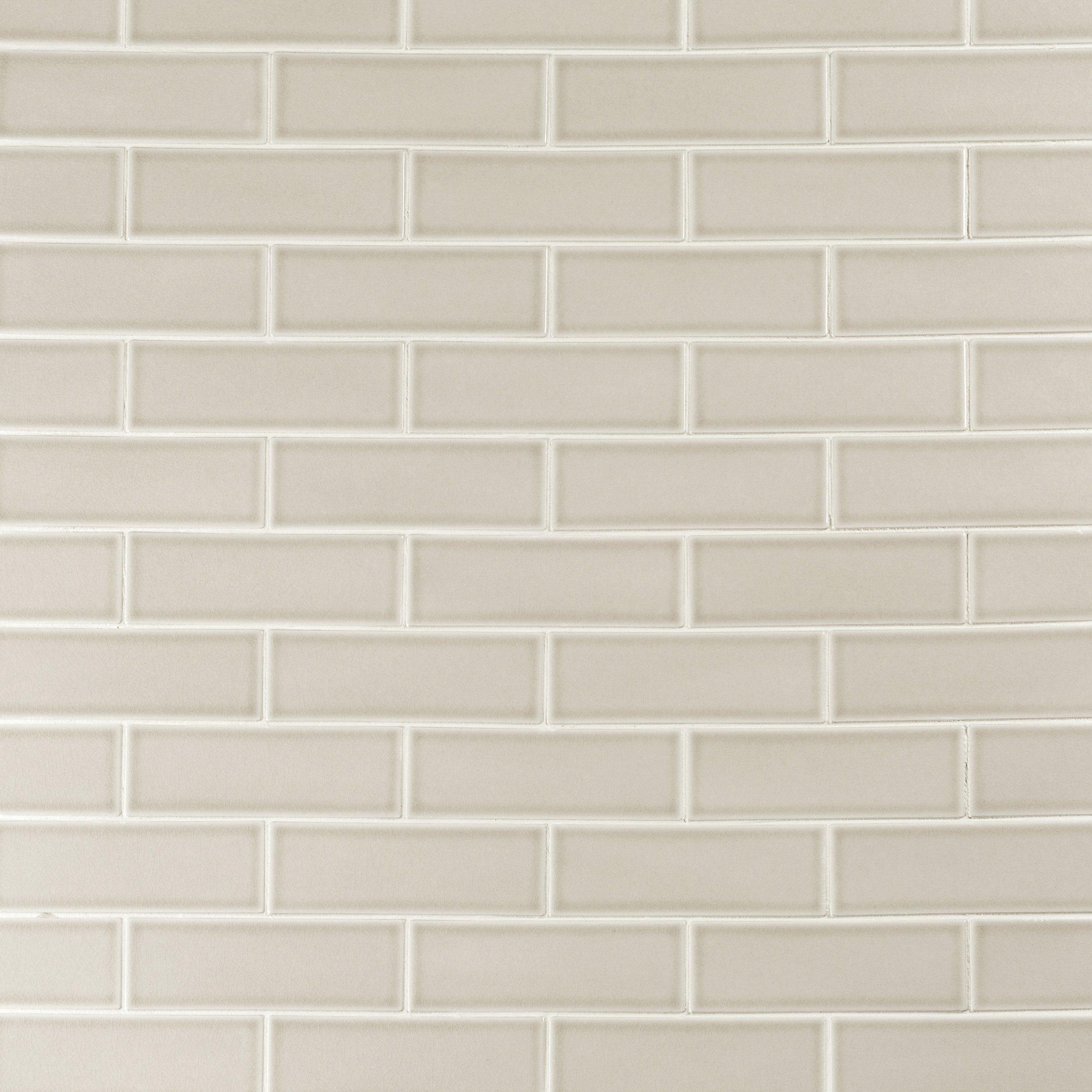 Kitchen Tile Herringbone Tile Bathroom Tile White 3x12 Thick Clay Body Subway Tile Countertop Backsplash Sample