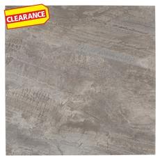 Clearance! Casa Moderna Pewter Slate Vinyl Tile