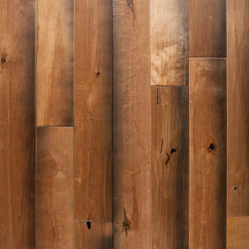 Tawny Birch Hand Scraped Solid Hardwood 34in X 4 34in
