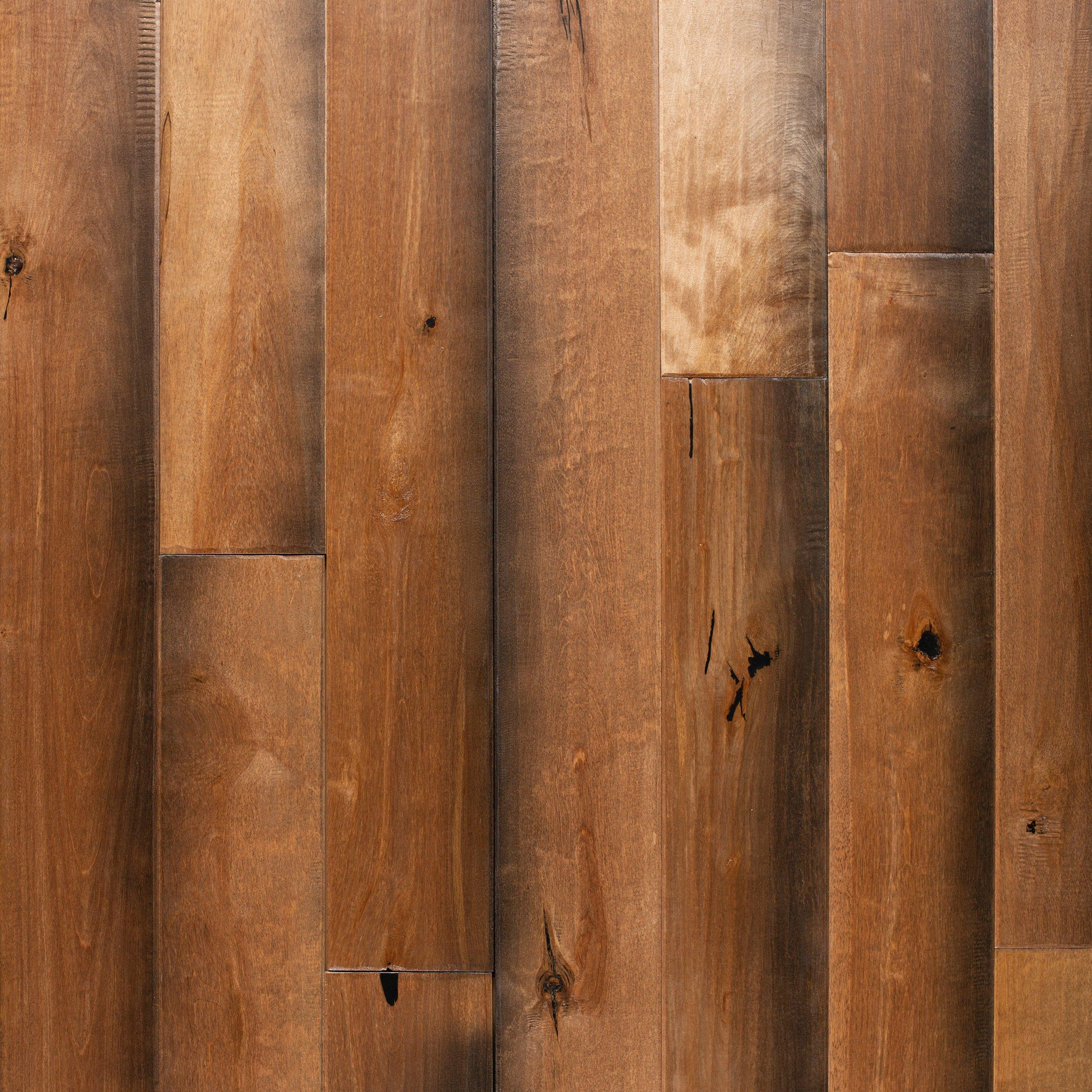 tawny birch hand scraped solid hardwood 34in x 4 34in floor and decor - Hand Scraped Hardwood