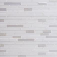 Sequioa Linear Glass and Metal Mosaic