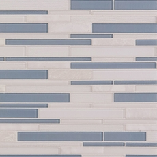 Biscayne Linear Glass Mosaic