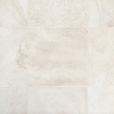 Cascade White Premium Honed Travertine Tile