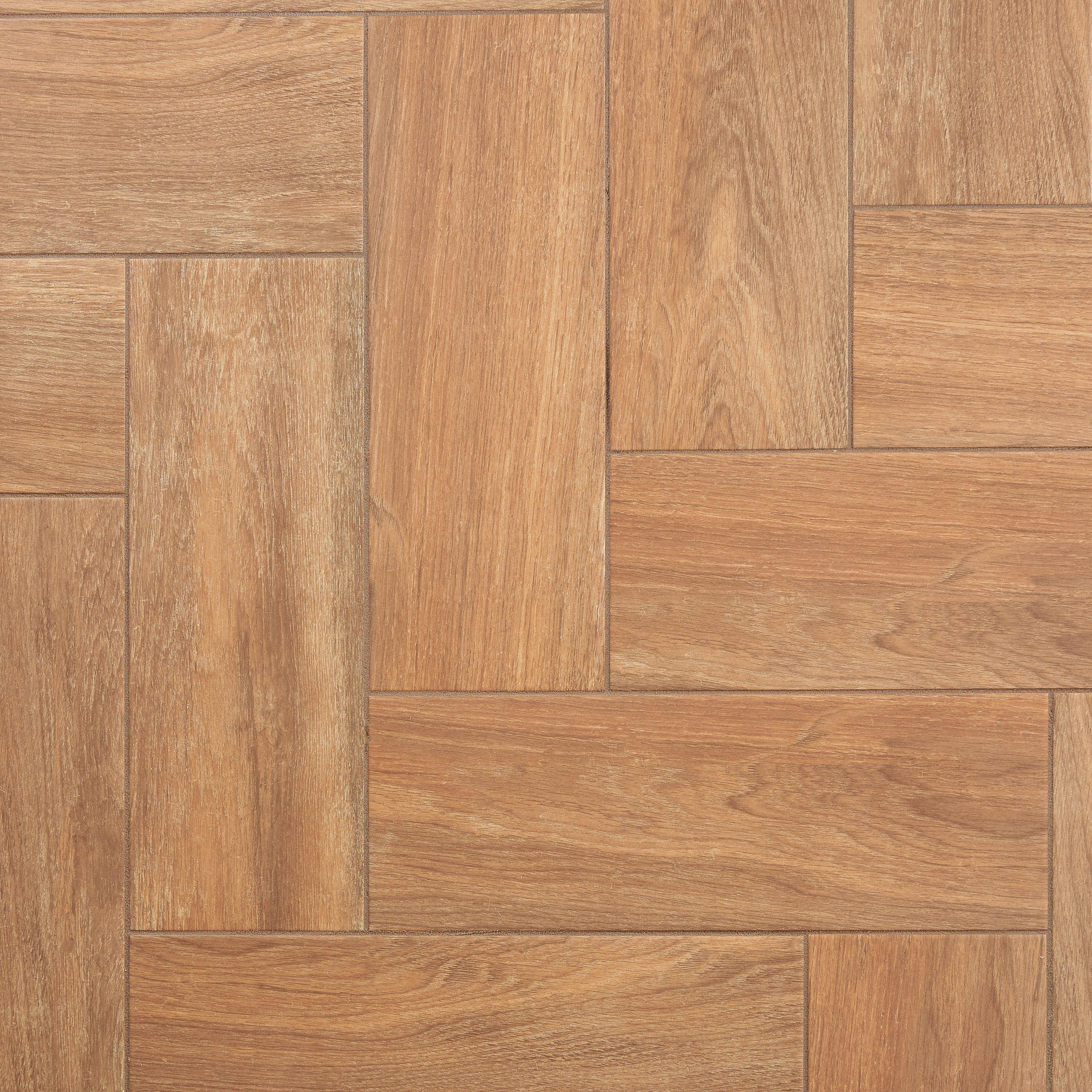 Addison Oak Wood Plank Ceramic Tile   7 X 20   100191279 | Floor And Decor