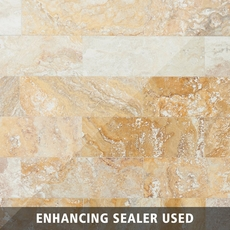Valencia Cross Cut Travertine Tile