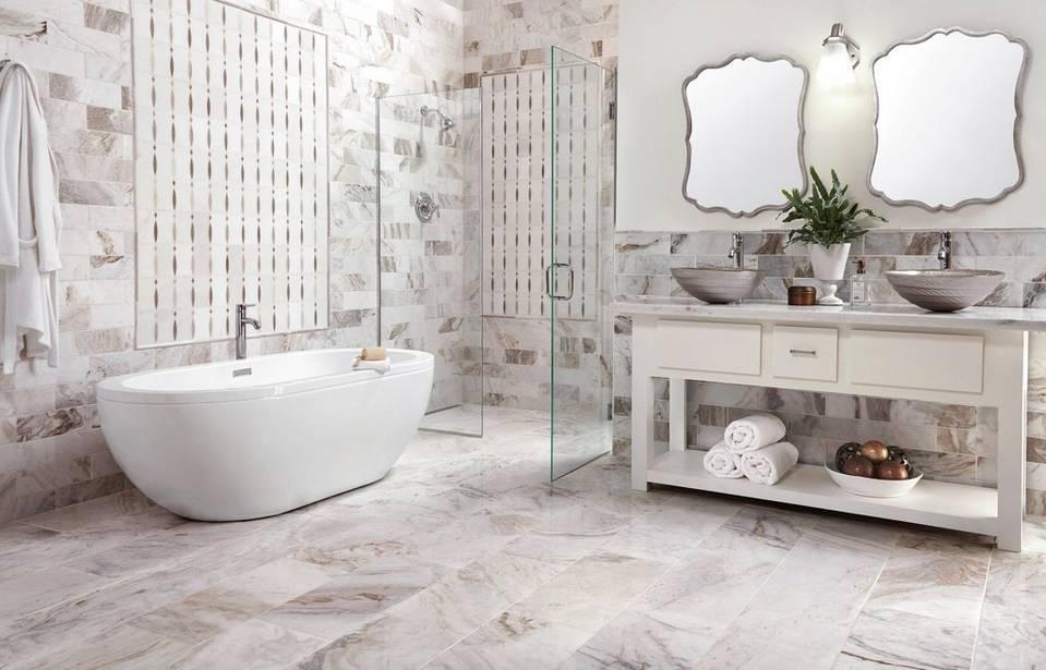 Get Inspired Marble Bathrooms Floor Amp Decor