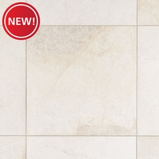 New! Vanilla Cream Red Marble Tile
