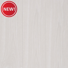 New! AquaGuard Ivory High Gloss Water-Resistant Laminate