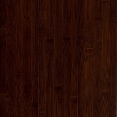 Eco Forest Dark Java Hand Scraped Solid Bamboo