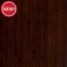 New! Eco Forest Solid Dark Java Hand Scraped Solid Bamboo