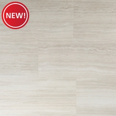 New! Casa Moderna Travertine Cloud Vinyl Tile