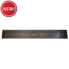 New! Compotite 32in. Linear Drain Body Black ABS Linear Shower Drain