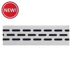 New! Compotite 36in. Oval Design Stainless Steel Grate