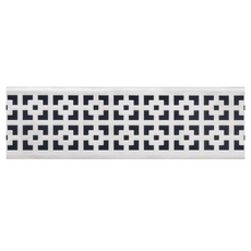 Compotite 36in. Mission Design Stainless Steel Grate