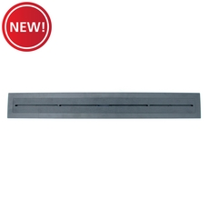 New! Compotite 24in. Tile-Over Top Black ABS Cover Plate