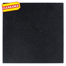 Clearance! Black Galaxy Honed Granite Tile
