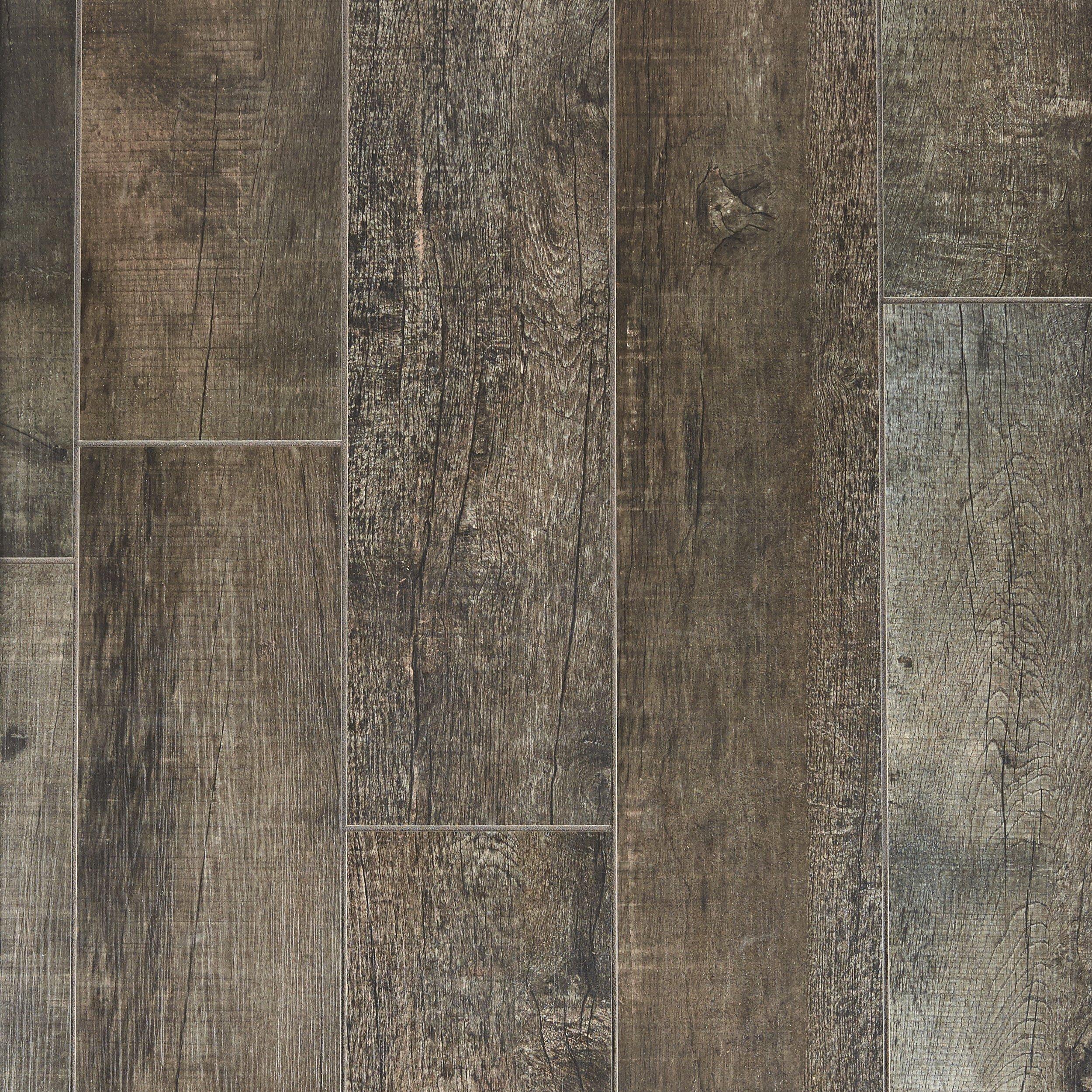 frontier dark wood plank porcelain tile 8in x 48in floor and decor