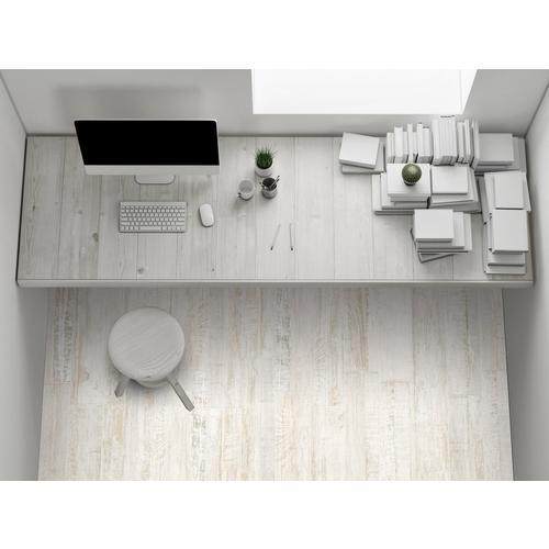 ... Pier White Wood Plank Porcelain Tile. Click to zoom - Pier White Wood Plank Porcelain Tile - 6in. X 36in. - 100199967