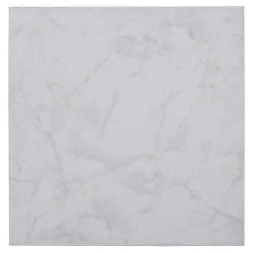 Crystal White Ceramic Tile - 12in. x 12in. - 100205400 | Floor and Decor