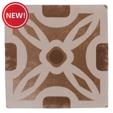 New! Barcelona Beige and Brown Ceramic Tile