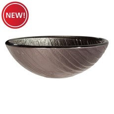 New! Galactica Gray Glass Sink