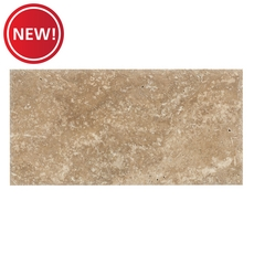 New! Antique Bari Brushed Travertine Tile