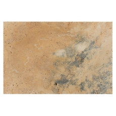 Scabos Country Brushed Travertine Tile