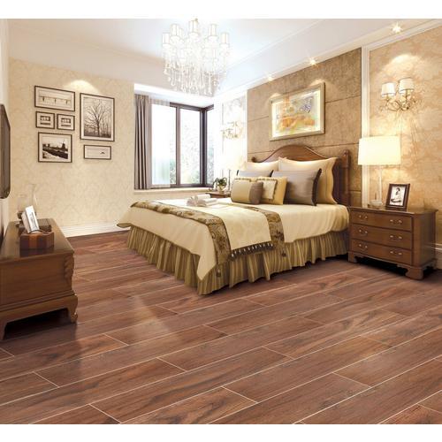 Fantastic Saramac Cherry Wood Plank Ceramic Tile - 6 x 36 - 100213164  SC83