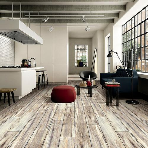 ... Wood Plank Ceramic Tile. Click to zoom - Bennington Ridge Wood Plank Ceramic Tile - 8in. X 48in