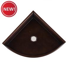 New! Oil Rubbed Bronze Decorative Corner Shelf