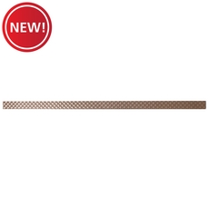 New! Metallic Bronze Decorative Liner