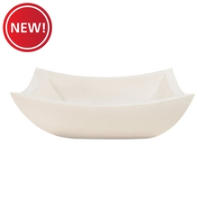 New! Curved Rectangle Limestone Sink