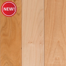 New! Natural Maple Solid Hardwood