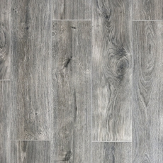 Rockwood Gray Wood Plank Porcelain Tile