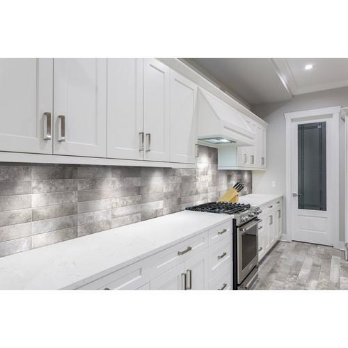 Stone Silver Porcelain Tile 3 X 14 100221118 Floor And Decor