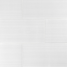 Loft White II Polished Ceramic Tile