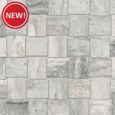 New! Travertino Grigio Porcelain Mosaic